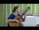 Прокопенко Дарья, 1 тур конкурса Жиновича, Леньяни, Фантазия 19