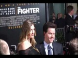 The Fighter Premiere Amy Adams, Christian Bale and Mark Wahlberg