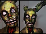 Springtrap  Five Nights at Freddy's 3  Makeup Tutorial