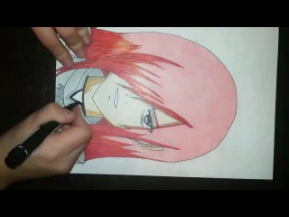 Speed Drawing - Erza Scarlet (Anime Fairy Tail)