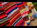 Как сделать коврики из старой одежды? Вытворяшки