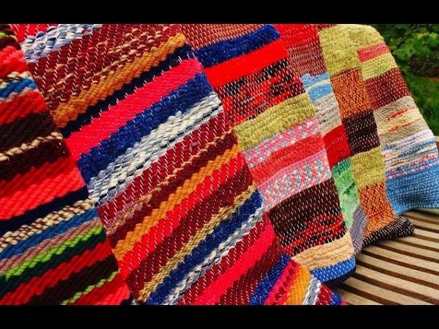 Как сделать коврики из старой одежды Вытворяшки