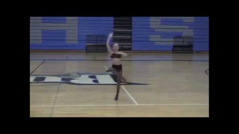 Maddie Ziegler - Spanish Dance - FULL UNAIRED best angle!!