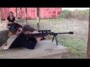 Fun with the Barrett M99 Sniper Rifle (.50 Cal) (small)