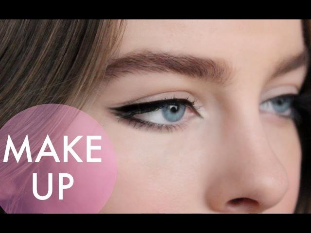 Как рисовать стрелки советы и хитрости / Eyeliner tutorial tips tricks | Beauty Blanc