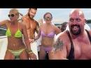 Randy Orton Big Show VS Drunk Spring Breakers