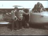 История авиации. Первый в мире пятиместный планер стартовал. 1934,  Крым, кинохроника, СССР