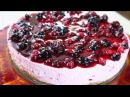 CHEESECAKE AI FRUTTI DI BOSCO SENZA COTTURA No bake Mixed Berry Cheesecake