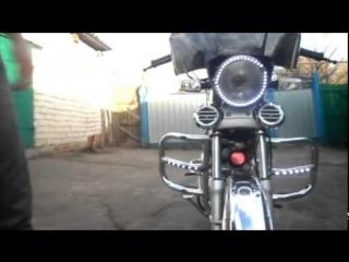 Мотобудни #11. Подсветка на мопеде альфа. Заключительное видео про оптику мопеда альфа.