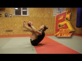 Круговая тренировка бойца ММА. Alexandra Albu conditions workout.