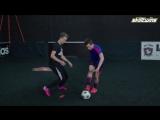 Learn Amazing FUTSAL-STREET Football Skills Tutorial! ★