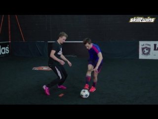 Learn Amazing FUTSAL-STREET Football Skills Tutorial! ★