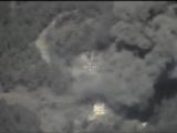 Нанесение удара с применением корректируемых авиабомб по командным пунктам ИГИЛ. Сирия.