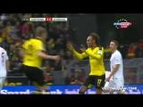 Боруссия Д - Аугсбург 1:0 - Гол Обамеянга