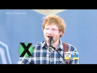 Ed Sheeran - Photograph (Live on GMA)