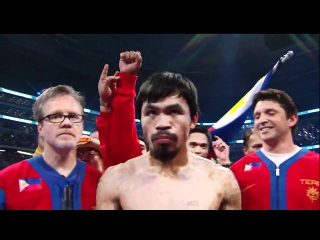 Manny Pacquiao's lengthy introduction Michael Buffer deserves a raise