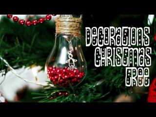 Большой Новогодний DIY |  CHRISTMAS TREE DECORATIONS