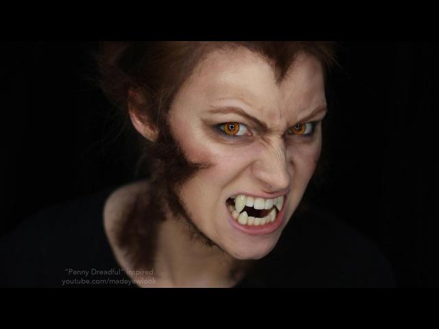 Werewolf Makeup Tutorial | Penny Dreadful