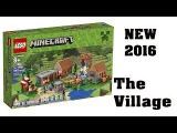LEGO Minecraft The Village 21128 set revealed!