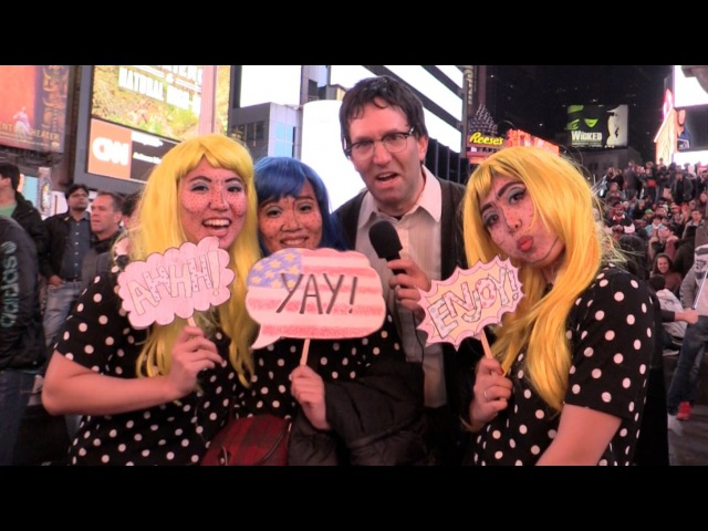 MediocreFilms - HALLOWEEN MADNESS in New York City Times Square!