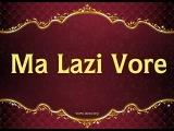 Ramazan KLEMURİSHİ - Lazca şiir