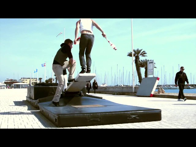 World's Craziest Teeterboard Flips Streaks Show