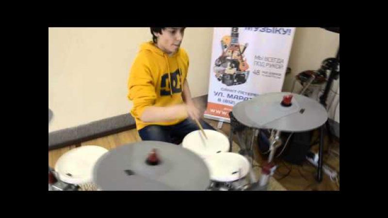 Nikita Shurupov - Green Day - Holiday ( drum cover )