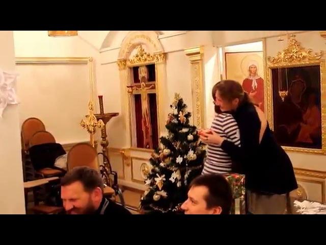 Семейный праздник рождества(репетиция)