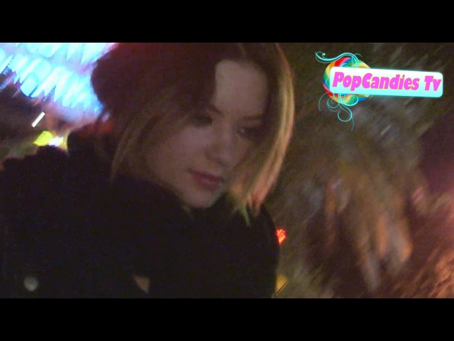 Ashley Benson says Yup to being engaged to Ryan Good departing Chateau Marmont in WeHo