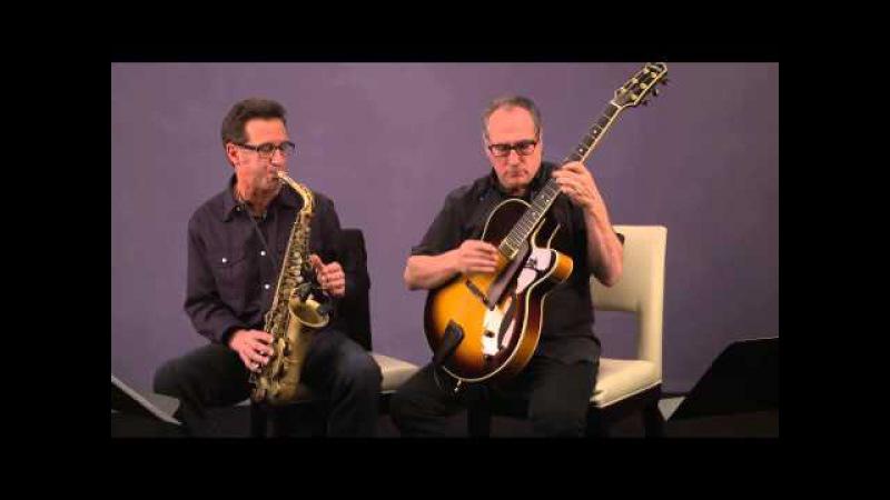 Eric Marienthal with Chuck Loeb -