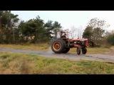 Дрифт на тракторе    ЖЕСТЬ!!!