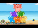 Elephants Have Wrinkles by Rock'n'Rainbow Music for Kids by Howdytoons