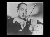 Heifetz plays Sinding Suite in A minor - III Tempo giusto