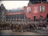 Парад Победы в цвете (реставрация) - 1945 г. Victory Parade in Moscow, 1945