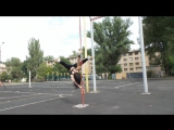 Maksim Sidorov and Ira Baran. Krivoy Rog, Ukraine. Pole Dance