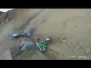 Подборка неудач на мотоциклах 2014