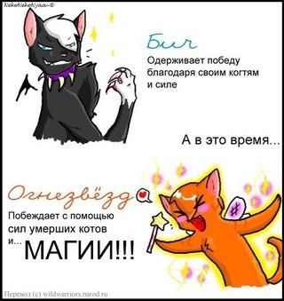 Создать кота воителя на русском