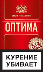 Сигареты оптом Оптима красная
