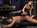 БДСМ игры лесбиянок в корсетах латексе и чулках lezdom, all girls, bondage, spanking, strapon, latex, fucking machine