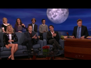 Conan 2016 02 24 The Cast Of The Big Bang Theory 720p HDTV x264