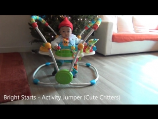 bright starts cute critters activity jumper instructions