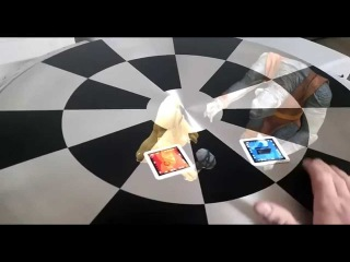 Holochess (Dejarik) Table Project - Augmented Reality Test