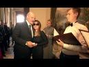 Лукашенко подарил памятную медаль Папы Римского участнице шоу Голос Патриции Кургановой