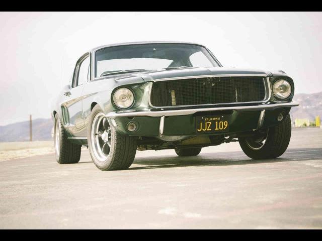 1968 Ford Mustang GT-390 Fastback Bullitt - невероятный V8