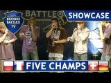 Zgas, Micspawn, Keumart, Babeli & Mando - Showcase - Beatbox Battle TV