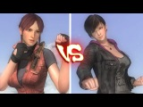 Dead or Alive 5 last round PC - Claire Redfield vs Moira Burton
