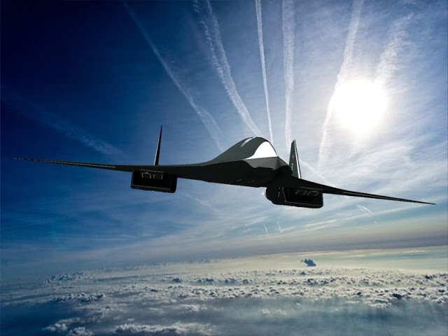 Самолет АТН-51 и варианты проекта самолета ПАК ДА