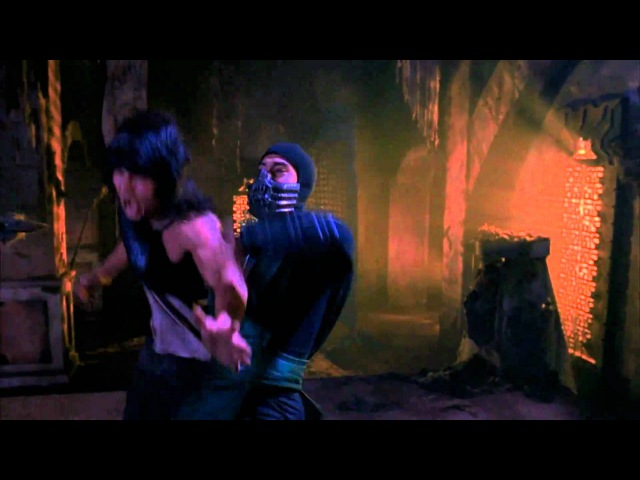 Mortal Kombat: The Movie - Reptile Fight Scene (1080p)