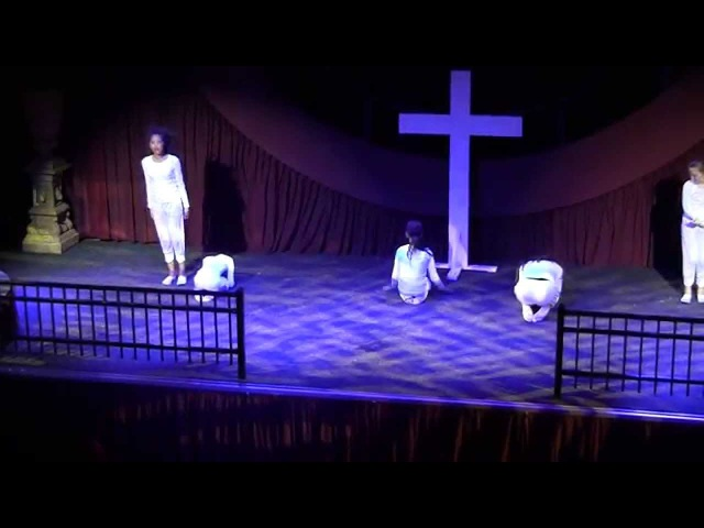 Lead me to the cross Hillsong Dance - Pure Kids - Easter Event 2015