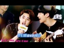 140905 EXO D.O. Chanyeol Singing Billionaire